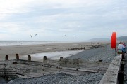 Looking northwards from Borth Sands