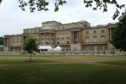 Rear of Buckingham Palace