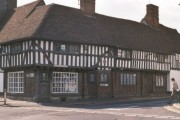 Lenham village square – a typical timbered house