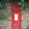 GR postbox, Cut Throat Lane