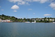 Dittisham (col. Ditsum) view across Dart from Greenway