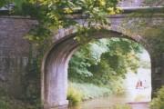 Canal bridge near Hall Green