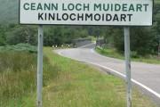Kinlochmoidart: new bridge
