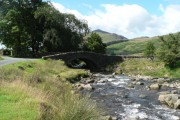 Cockley Beck: the bridge