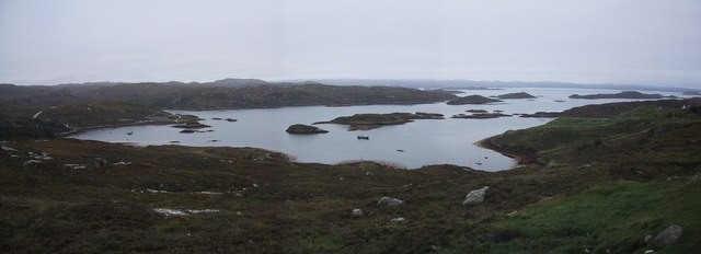 Badcall Bay from Upper Badcall