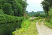 Crinan Canal by Bellanoch Basin