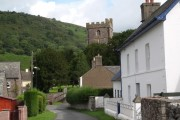 Cwmdu: the village centre