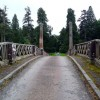 Adams designed bridge on the approach to Dumfries House
