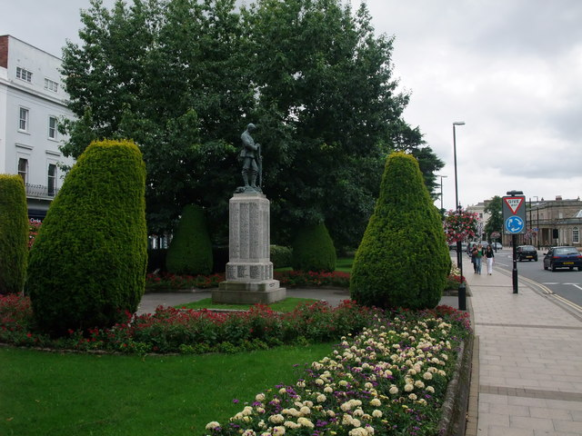'To Our Fallen Heroes', The Parade, Royal Leamington Spa