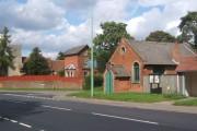 Church, former vicarage and parish rooms, Great Blakenham