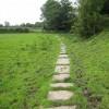 Hadrian's Wall National Trail at Kirkandrews-on-Eden