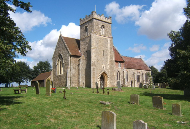 Church of St Mary and St Peter, Barham
