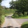 Track near Barham Green