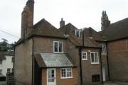 Rear of Jane Austen's house, Chawton