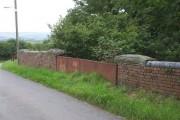 Bridge over dismantled railway, Lletty Brongu