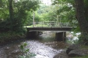 Bridge over the Llynfi, beside the Tylers Arms