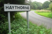 Haythorne: arriving from the north