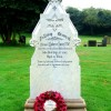 Grave of Private Robert Jones VC, hero of Rorke's Drift in the Zulu Wars, Peterchurch churchyard