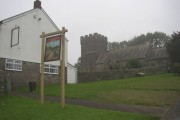 St Cein's Church of Wales with Llangeinor Arms Public House next door