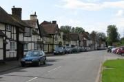 Bosbury village