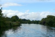 River Thames past Magna Carta Island