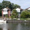 New houses, Wey Bridge Wharf