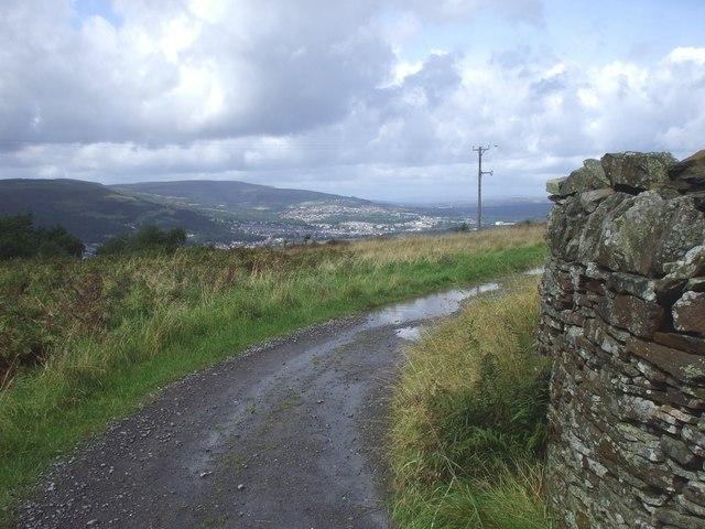 Farm track, Cefnpennar