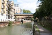 Docklands Light Railway bridge over Limehouse Cut