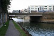 Burdett Road bridge over Limehouse Cut