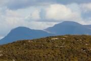 Mountain Scenery on the Applecross / Shieldaig road