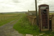 Telephone box (disused), Stroma
