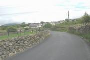 Approaching the village of Rhosgadfan from the direction of Rhostryfan