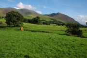 Skiddaw viewed from Bassenthwaite