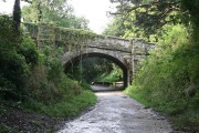 Bridge over the Camel Trail