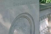 Inscription on Squires Bridge, Shepperton