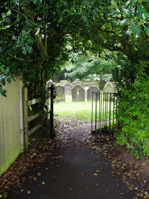 Gate to the graveyard, Bramshall