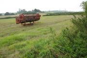 Harvest in near Dadnor Farm