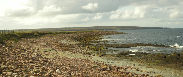 Looking towards Ness of Quoys
