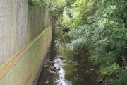 The Quaggy River in Manor House Gardens, Lee