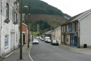Terraced housing in Ogmore  Vale