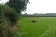 Farmland south of Goldings Farm