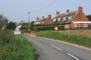 B1066 entering Boxted from the south