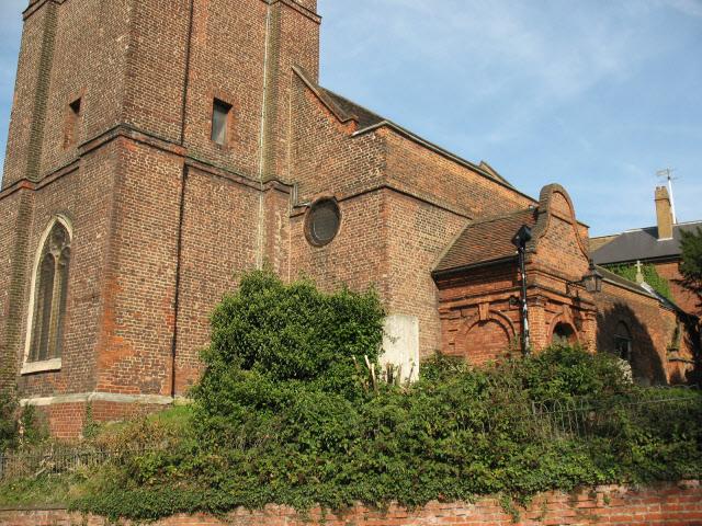 West end of St Luke's church, Charlton
