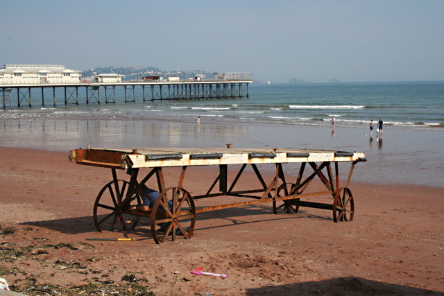 Mobile Landing Stage and Paignton Pier
