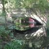 Bexley: footbridge at Danson Park