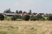Gamston village and church