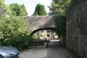 Shepton Mallet: footbridge