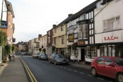 Bromyard - King's Arms pub and High Street