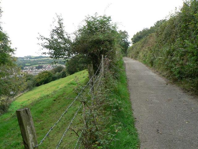 Lane above Thomastown