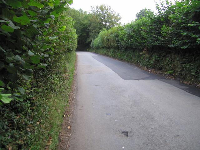 Road in a corner